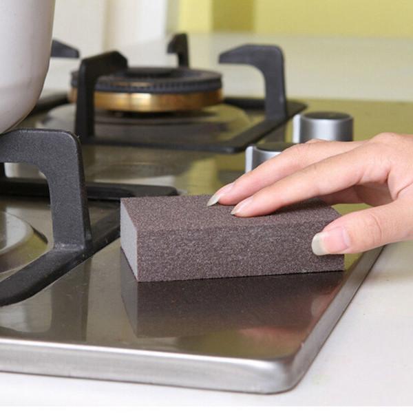 Cucina Nano Emery Magic Clean Rub Pot Ruggine Focal Stains Sponge Pads Removing Tool