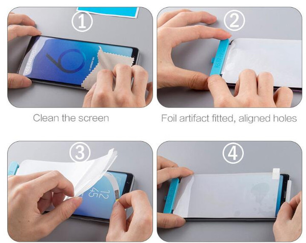 Film sticking tool for Hydrogel Film ,Auxiliary tools for Soft Hydrogel Film ,full cover soft screen protector sticking tool