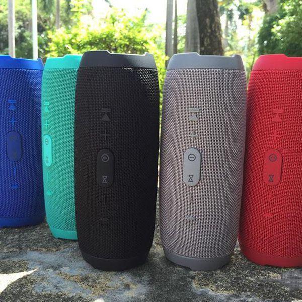 2019 Nova Carga 3 Sem Fio Bluetooth Speaker Com Função de Banco De Potência TF Cartão Portátil À Prova D 'Água Frete Grátis para SamsungS10 jbl
