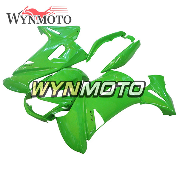Carénages complets de moto en plastique ABS pour Kawasaki ER-6F Ninja 650r