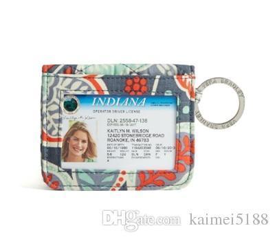 Yeni KAMPÜS ÇİFT KIMLIĞI CASE rozeti veya hediye kart sahibinin küçük cüzdan