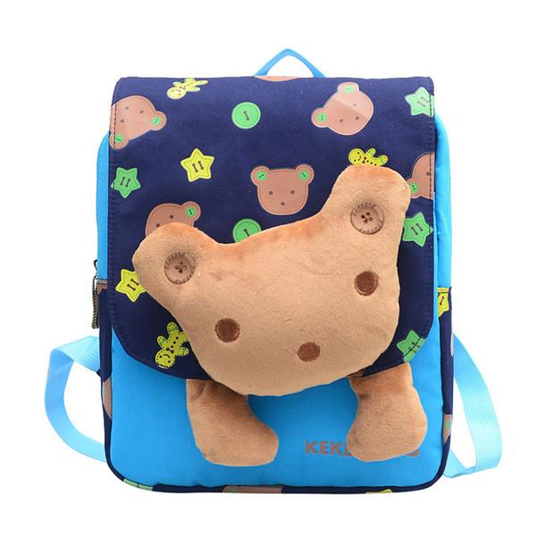 Cartoon Age 2-5 Toddler backpack kids baby bag cute animal children backpack kindergarten bear school bag mochila escolar