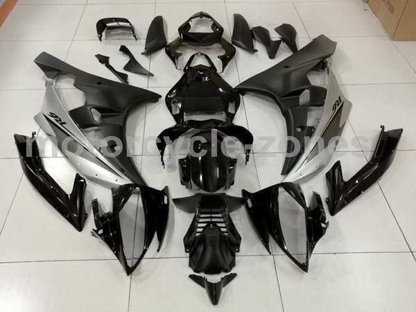 Motorrad-Gloss Matte Black ABS Kunststoff-Spritzguss-Karosserie-Verkleidung Kit für YAMAHA 2006 - 2007 YZF R6