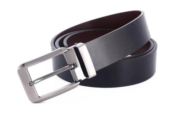 2019 Belt First Class real genuine Leather Mens designer For men leather belts for women strap Belts Alloy Buckle