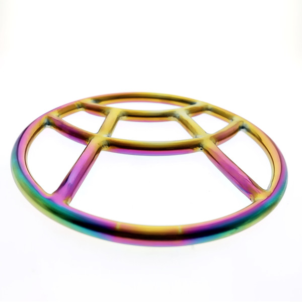 2019 NEWEST MKS06 rainbow shibari ring Special design of Surgical stainless steel bondage gear shibari ring private moulding for couple