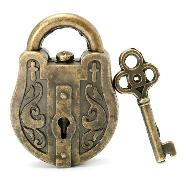 Vintage Metal Lock Key Puzzle Toy Educational Toys for Children Adult Mind Brain Teaser Magic Cubes Puzzle Educational Toy