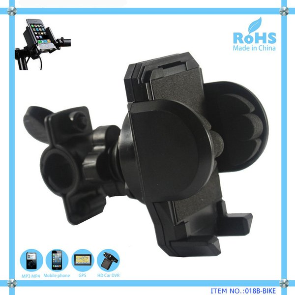 New Bicycle Stand Phone Holder for iPod iPhone Samsung Bike Holders for Smartphone PDA GPS Mobile Phones MP3 MP4