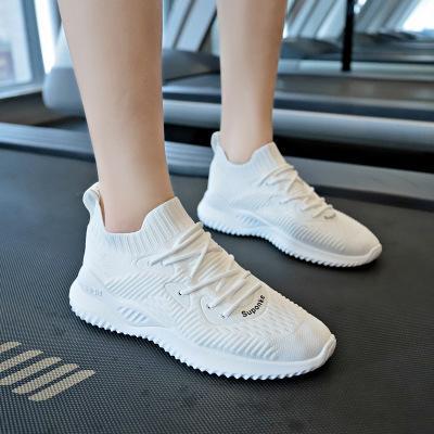 Feminino Weiße Vulkanisierte Casual Frauen Von Sommer Großhandel Tenis Socken Schuhe Gestrickte Trainer Turnschuhe Mode n0wPmNOyv8