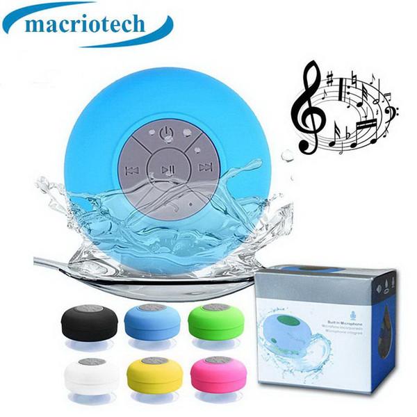Alta Qualidade de Som de Água À Prova D 'Água Speaker Bluetooth Mini Banheiro Sem Fio Do Chuveiro Speaker Handsfree Speakerphone Portátil MOQ: 20 PCS