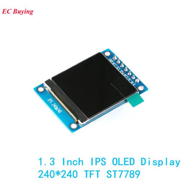 Módulo de pantalla Oled de 1.3 pulgadas Ips 240 * 240 Rgb Tft para Arduino Diy Lcd Board St7789 7pin 4-wire Electronic