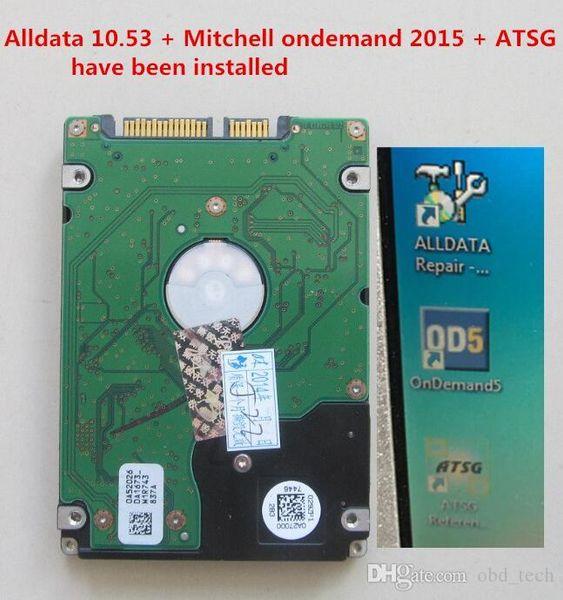 1 ТБ HDD с Alldata, M. itechell, atsg