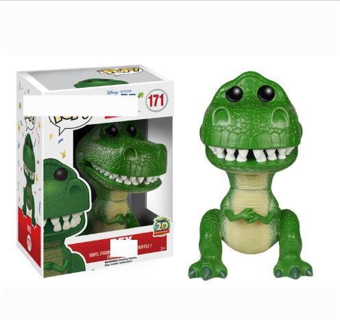 Figura Funko Pop Rex vinile azione con la scatola # 171 del regalo del giocattolo bambola di buona qualità