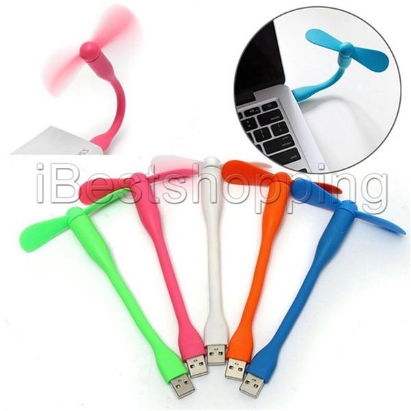 Portable Mini USB Ventilateur USB Flexible Pour Power Bank Notebook Ordinateur Portable Petits Appareils De Climatisation