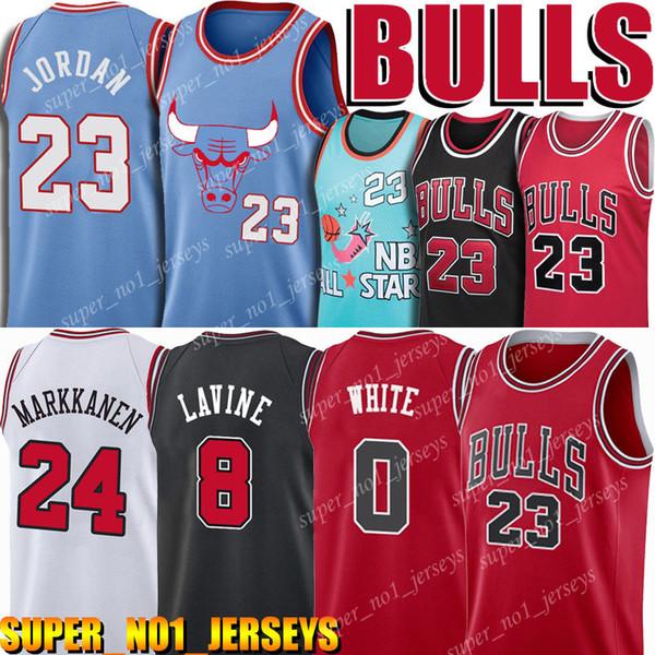 best selling Chicago Jersey Bulls 23 Michael Jerseys Zach 8 LaVineJersey Coby 0 White Jerseys MJ Lauri 24 Markkanen Jersey Wendell 34 Carter Home Red