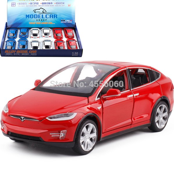 1/32 Die-cast Vehicles Alloy Pull Back Car Model Sports Car Toys for Children