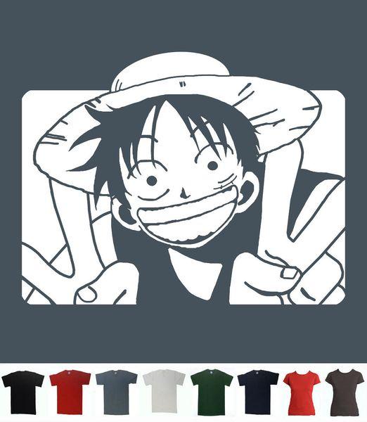 Monkey D Luffy T-Shirt Onepiece Anime T Straw Hat Tee Men Women Unisex Fashion tshirt Free Shipping