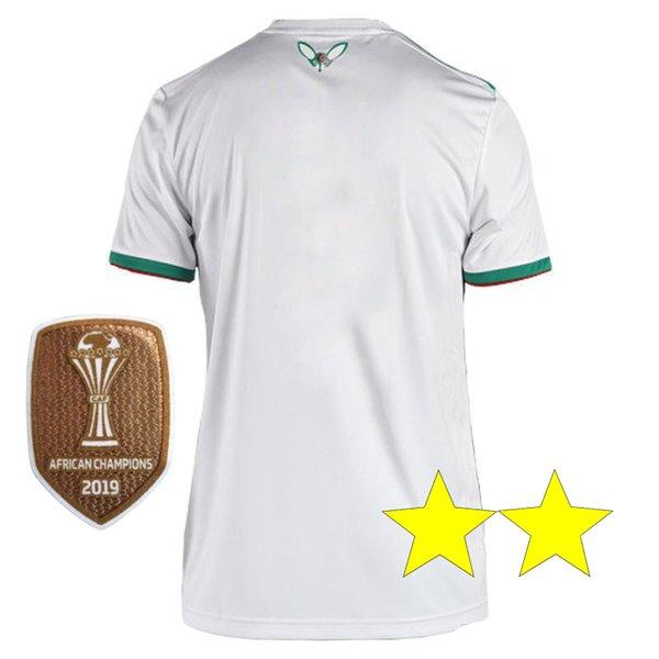 2020 Champion Maillot Algerie New 2 Stars Soccer Jersey 2019 Home Away Mahrez Bounedjah Feghouli Bennacer Atal Algeria Maillot De Foot From Huangkanghan 12 95 Dhgate Com