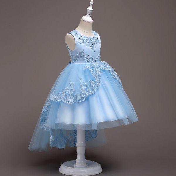Vestidos Da Menina do adolescente Novas Meninas de Aniversário Festa de Casamento Pageant Longo Princesa Vestido de Miúdo Traje de Natal Roupas Crianças 14Y