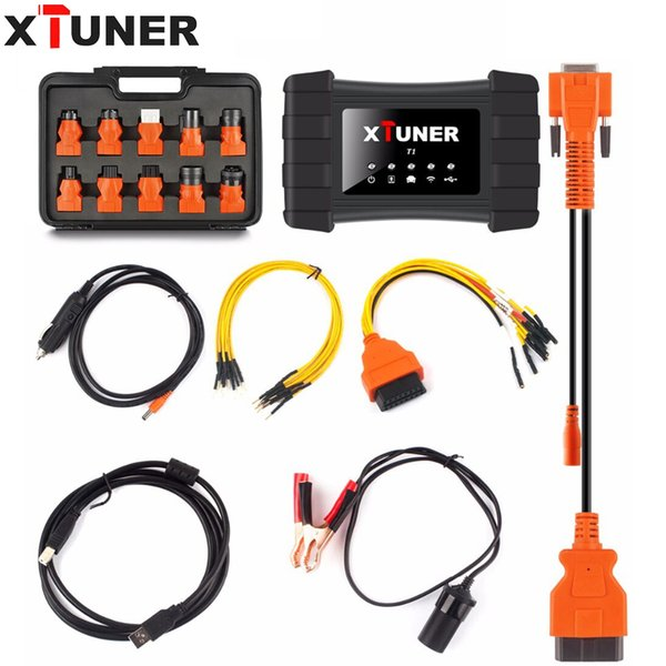 XTUNER T1 Heavy Duty Trucks With Wifi Professional Truck Diagnostic Tool Support WIN10 System XTUNER T1 diesel truck diagnostic