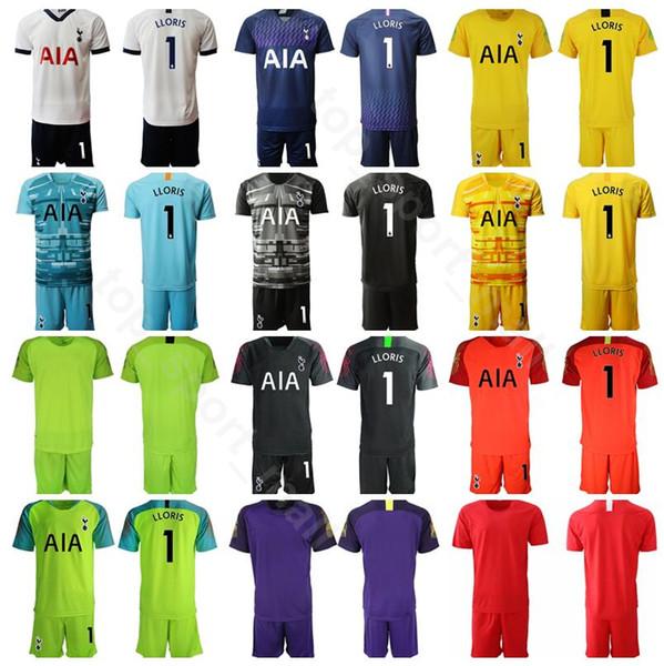 Goleiro GK Goalie 1 Hugo Lloris Jersey Definir Homens Hot Spur Futebol 13 Vorm 22 Gazzaniga Camisa De Futebol Kits Uniformes Personalizado Número De Nome