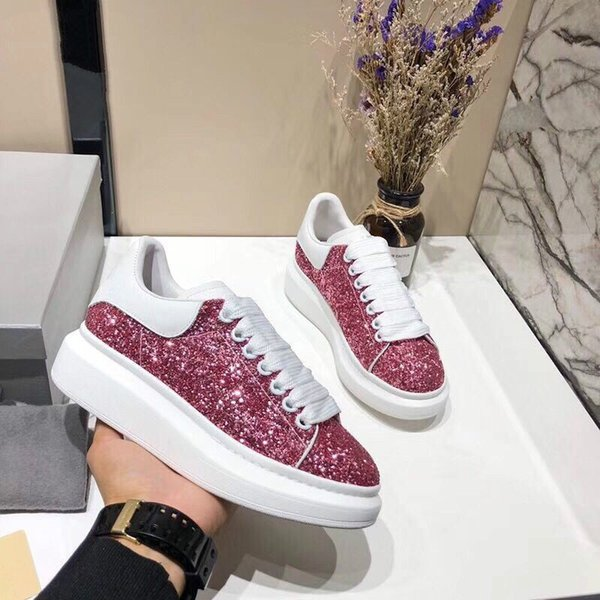 Fashion Designer Sneaker Man Woman Casual Shoes Genuine Leather Mesh pointed toe Race Runner Shoes Outdoors Trainers xrx1904091012