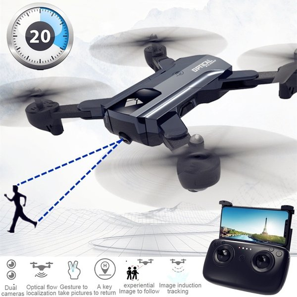 X196 F196 Камера Drone С Камерой Hd Dron Оптический Поток Квадрокоптер Высота Удержания Fpv Квадрокоптер Дроны Rc Вертолет Против Sg900 T190621