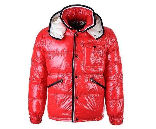 NEW 2019 Men Casual shiny Down Jacket Down Coats Mens Outdoor Fur Collar Warm Man Winter Thick warm Coat outwear jackets parkas