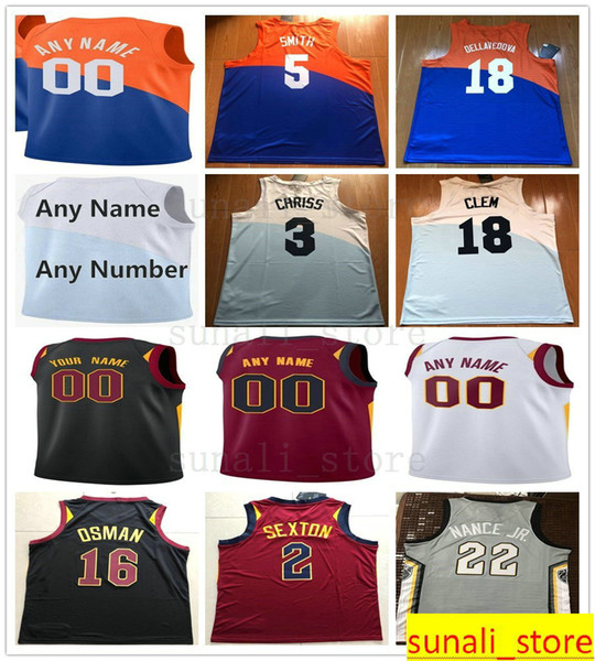 premium selection 468c2 8a598 2019 Printed Marquese 3 Chriss Channing 9 Frye Larry 22 Nance Jr. Ante 41  Zizic David Nwaba Nik Stauskas Deng Adel Jaron Blossomgame Jersey From ...
