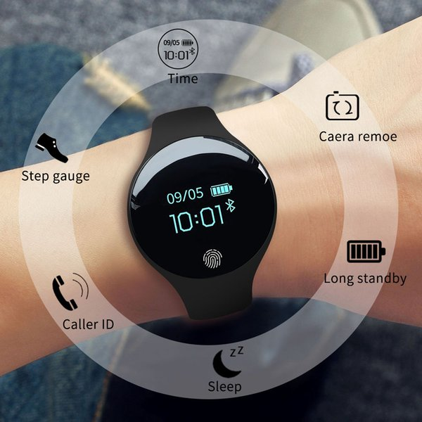 Sanda H8 new smart watch for male and female students Korean version of the movement step waterproof bracelet table gift