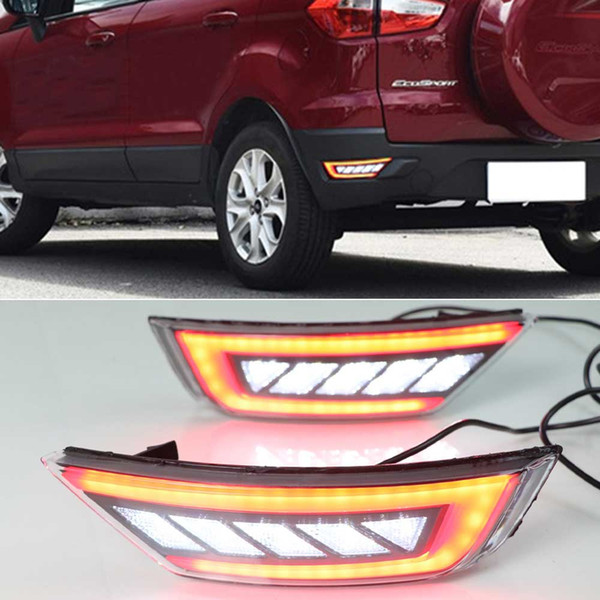 best selling For Ford Hatchback Focus 2009-2013 For Ecosport 2013-2018 For Kuga Escape 2013-2018 rear tail bumper lamp Reflector fog light