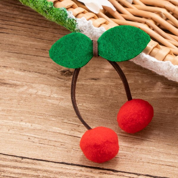 2PCS New Sweet Cherry Hair Clip Girls Hair Accessories Female Barrette Best Gift Barrette Styling Accessories