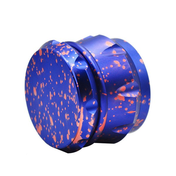 In Stock Sharpstone Grinders Concave Herb Grinder With Four Layers 63*48MM Zinc Alloy Diamond Shape Different Color Smoking Accessories