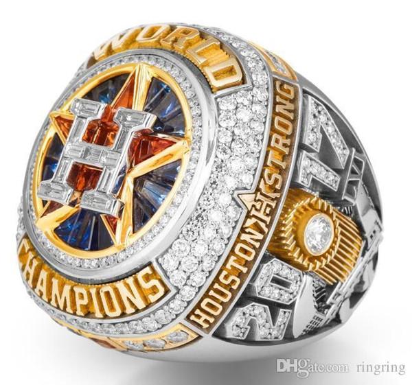 Pop Mode Goood4store Le récent 2017 2018 Houston World Baseball Championship Anneau Altuve Springer hommes Fan de gros Drop Shipping cadeau