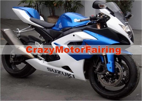 3 gifts+Seat cowl New Fairings Kits For SUZUKI GSXR1000 K5 05-06 GSXR 1000 GSX R1000 GSX-R1000 K5 05 06 2005 2006 Fairing blue and white