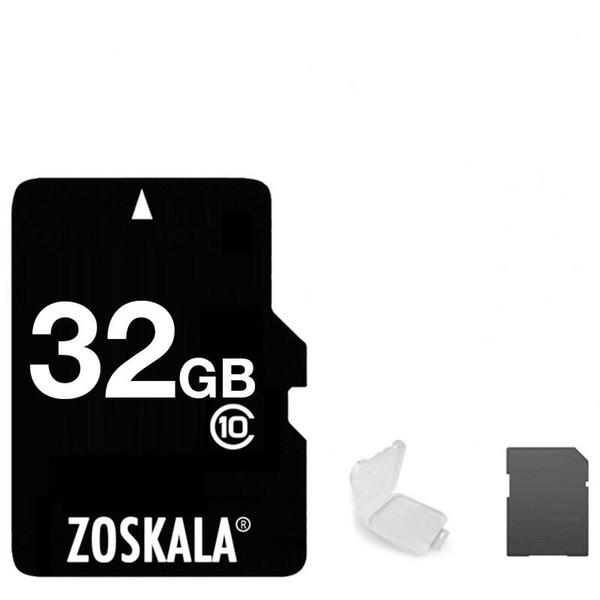 best selling 2020 Hot 100% Brand New Zoskala Real Genuine 2GB 4GB 8GB 16GB 32GB 64GB 128GB U1 C10 Full Capacity TF Memory Card for Cameras Smartphones