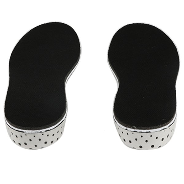 Men Women Pads Soft Breathable Memory Foam Inserts Outdoor Foot Heel Lifting Massage Invisible Insole Shoes Height Increase