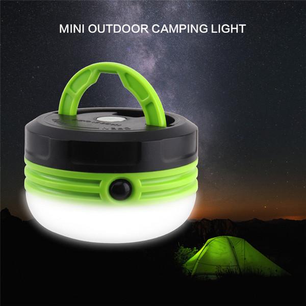 Nuova lampada da campeggio portatile DC5V Lanterna LED Tenda da campeggio all'aperto Luce Campeggio Escursionismo Torcia di emergenza con magnete