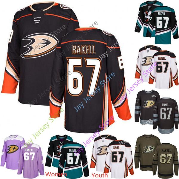 hot sale online 2cff9 34674 2019 Rickard Rakell Jersey Anaheim Ducks Ice Hockey Men Women Youth Stanley  Winter Classic Green Salute To Service Purple Home Away From Morejersey, ...