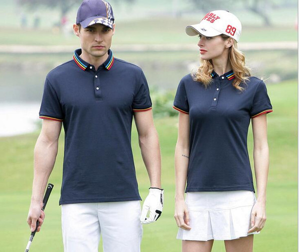 2019 US England style 100% cotton causal men's Tees polos camisa t-shirt famous popular Business man Golf Designer stripe polo shirts