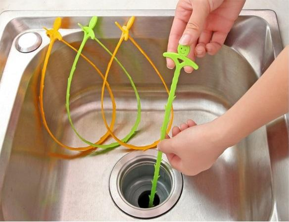 4colors/set Cleaning Kitchen Sink Filter Sewer Drain Hair Colanders Strainers Filter Bathroom Sink Drain Strainer Kitchen Sink Clean Hook