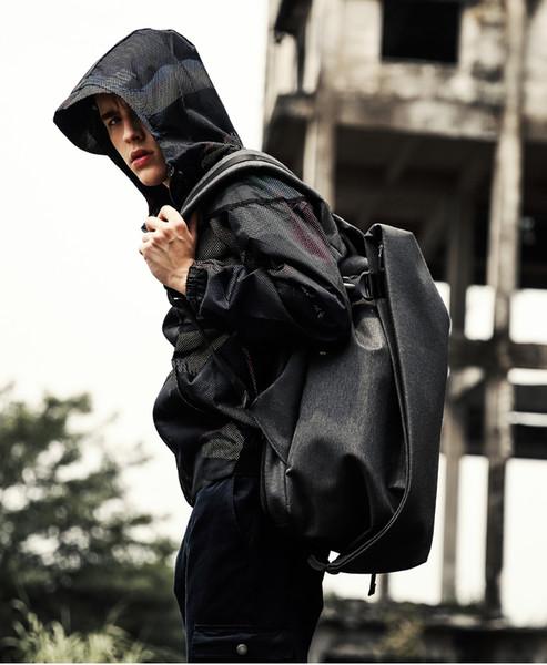 "Large Capacity College Student Backpack KAKA Fashion Men Backpack for Laptop 15.6"" USB Port Waterproof Travel Backpack Schoolbag"