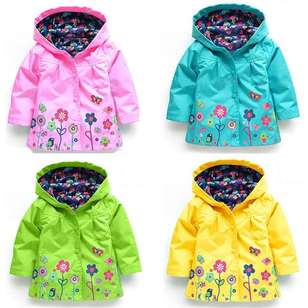 Winter Hooded Girls Jacket for Girl Coat Kids Winter Outwear Clothes Spring Autumn Fashion Children Raincoat Coat k1