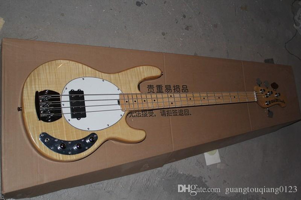 Hot Sale High Quality Ernie Ball Musicman Music Man Sting Ray 4 Strings Electric Bass Guitar In Stock
