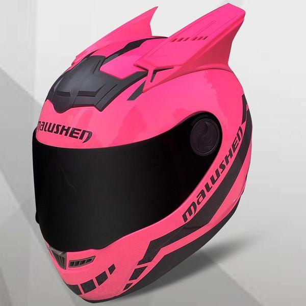 MALUSHUN Мотоциклетный Шлем Женщины Flip Up Мотокросс Шлем Мото Шлем Capacetes De Motociclista Новинка Casque Moto ABS Материал