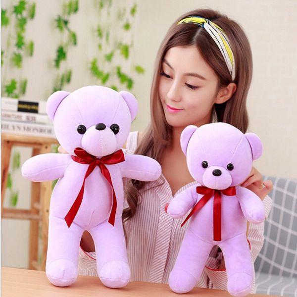 Mini teddy bear love doll teddy kawaii stuffed animals care bears baby doll toys for children plush valentine's day gift