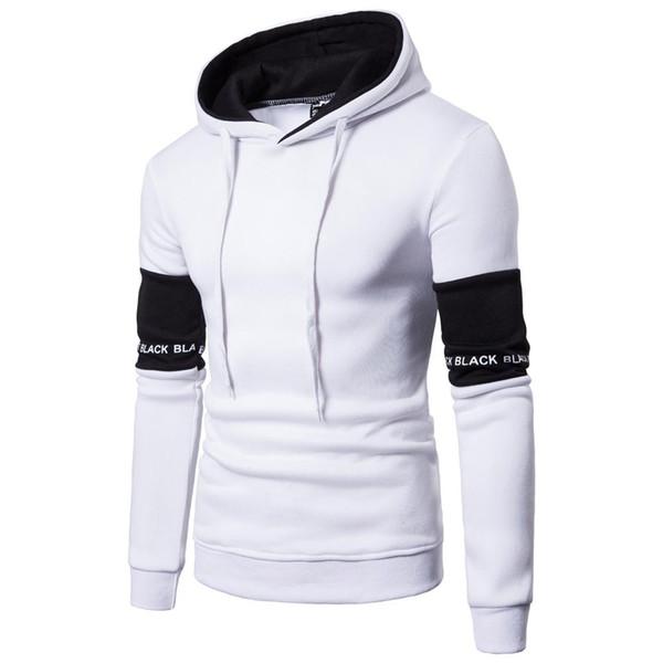 Großhandel Schwarz Lässige Hoodies Herrenmode Neue Kapuzenpulli Mantel Männer Wintermode Hoodies Slim Fit Sweatshirts Von Greenyouthfulness, $17.37