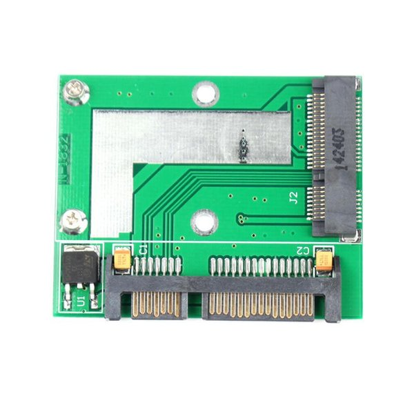 Computer Office Computer Cables Connectors High Quality PCI-E Half Height mini mSATA SSD to 7mm 2.5 SATA 22pin Hard Sisk Drive #67542