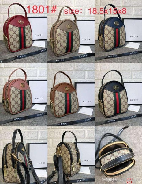 1801# GY Best price High Quality women Ladies Single handbag tote Shoulder backpack bag purse wallet