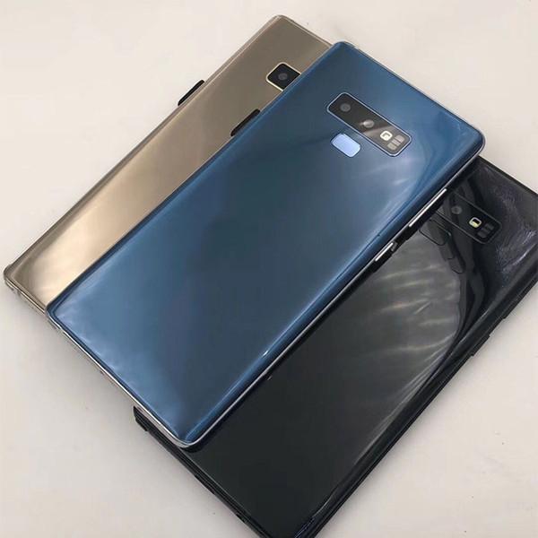 a2a3f37e49ca Goophone WCDMA 3G Примечание 9 6,3 дюйма MTK6580 разблокирован сотовый  телефон четырехъядерный Android 7.0 1g Ram 4G ROM показать 4G LTE смартфон  мобильный