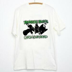 BEASTIE BOYS VTG CheWholesale su marca al por mayor T Shirt 1992 90s Tour Concert Band TOP